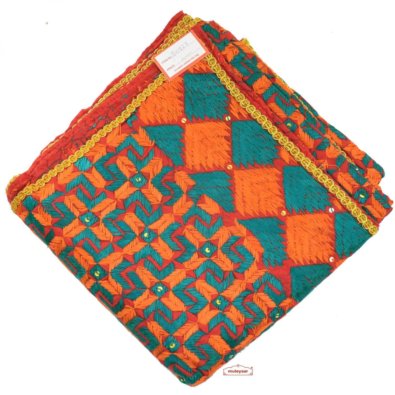 Hand Made Traditional Phulkari Bagh Dupatta D0927 1
