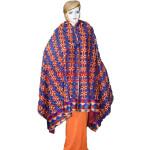 Phulkari Bagh Hand Embroidered Cotton Dupatta D0915