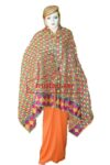 Phulkari Bagh Hand Embroidered Party Wear Cotton Dupatta D0917