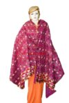 Phulkari Bagh Hand Embroidered Party Wear Cotton Dupatta D0920