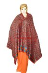 Phulkari Bagh Hand Embroidered Party Wear Cotton Dupatta D0927