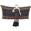 Black Party Wear Self Viscose Crepe Phulkari Salwar Suit Pure Chinon Dupatta F0760