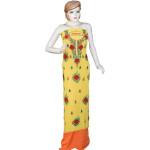 Yellow Georgette Party Wear Kurti K0402