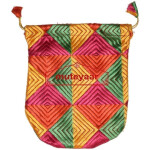 Shagun Thaili Pouch / Shagan Thaila for Punjabi Wedding – Phulkari Embroidered Bag
