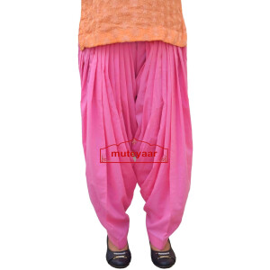 Pure Cotton Semi Patiala Pants 3MPC – All colours & Sizes Available