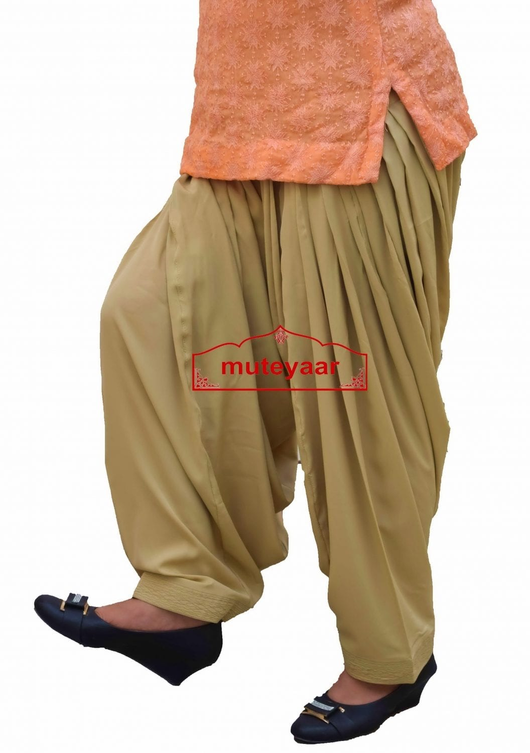 3 METER CREPE Salwar Bottom - All colours & Sizes Available 3