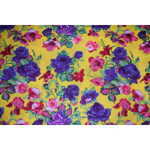100% PURE Soft COTTON PRINTED FABRIC PC293