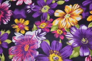 100% PURE Soft COTTON PRINTED FABRIC PC298