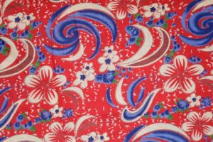 100% PURE Soft COTTON PRINTED FABRIC PC302