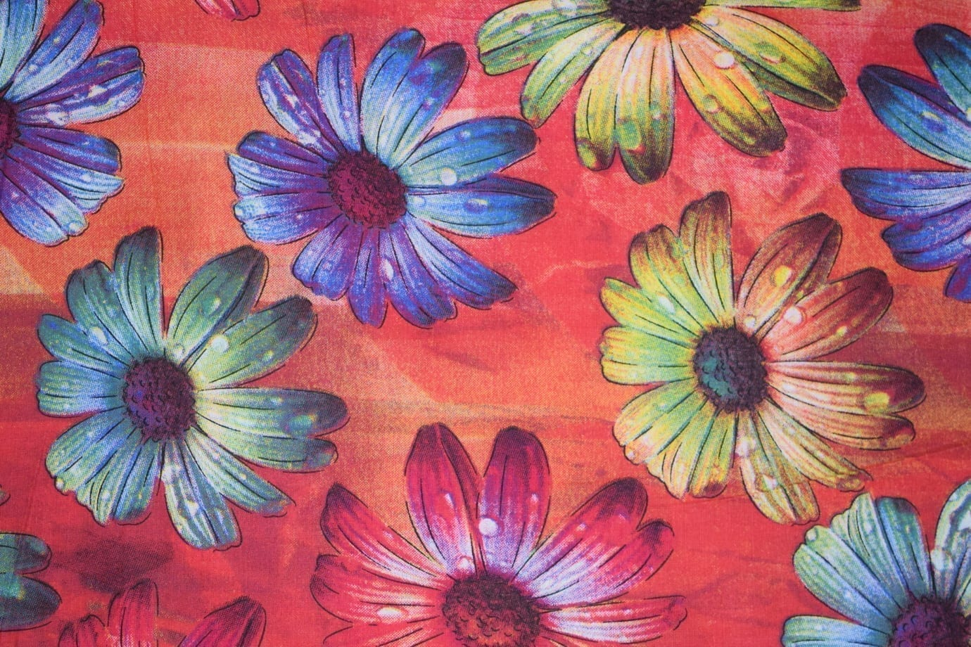 100% PURE Soft COTTON PRINTED FABRIC PC305 1