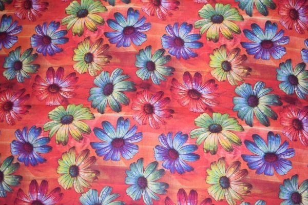 100% PURE Soft COTTON PRINTED FABRIC (per meter price) PC305