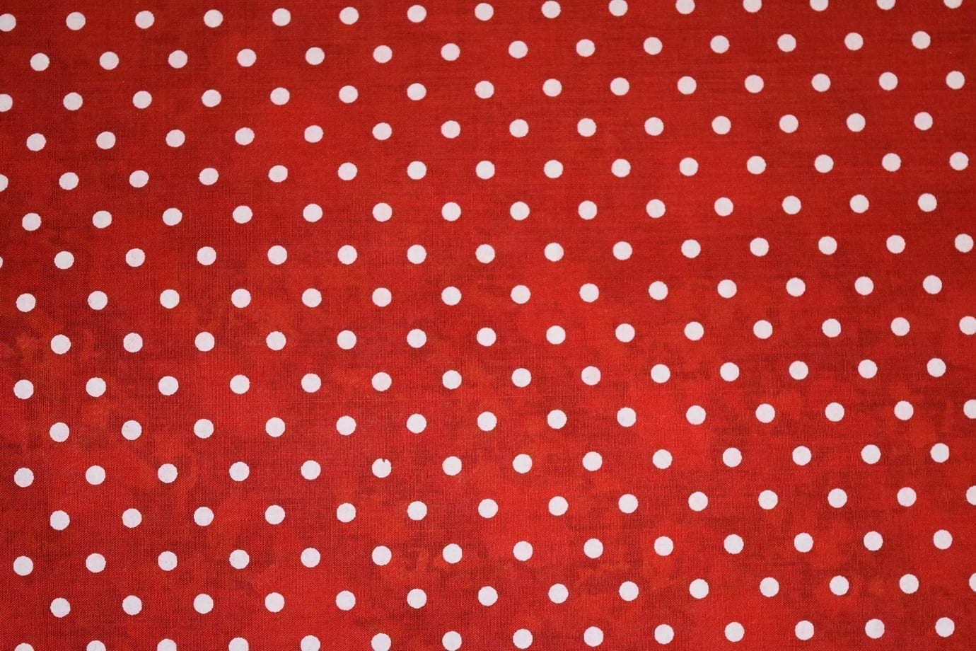 Small Polka Dots Red COTTON PRINTED FABRIC PC307 1