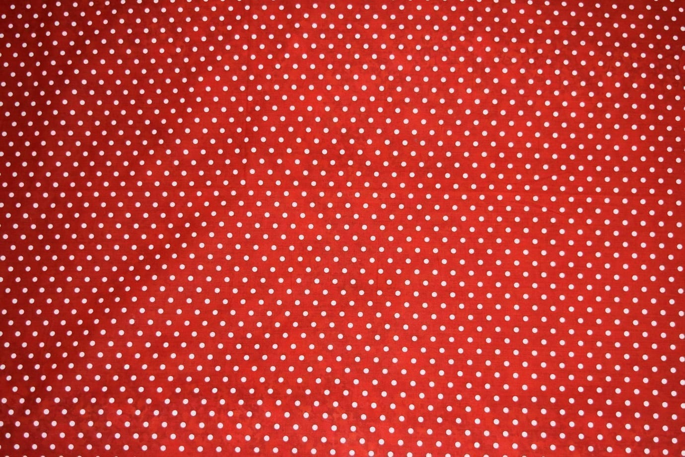 Small Polka Dots Red COTTON PRINTED FABRIC PC307 2