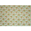 Small Flowers on White COTTON PRINTED FABRIC (per meter price) PC314