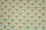 Small Flowers on White COTTON PRINTED FABRIC PC314