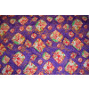 Purple Bandhani Design COTTON PRINTED FABRIC (per meter price) PC317