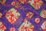 Purple Bandhani Design COTTON PRINTED FABRIC PC317