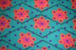 Green Orange COTTON PRINTED FABRIC PC321