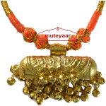 JUGNI traditional golden necklace haar for Giddha Bhangra