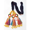 Multi Colour Kids Paranda Parandi with Mirror & Ghungroo Work