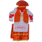 Custom Stitched Bhangra Costume Dance Dress Outfit Vardi