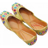 Multicolour Punjabi Jutti Dabka Mirror Work Party wear Shoes PJ9799