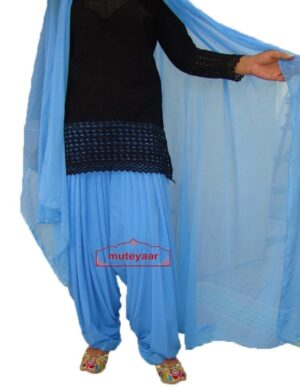 Firozi Patiyala Shalvar + Matching Dupatta  from Patiala City