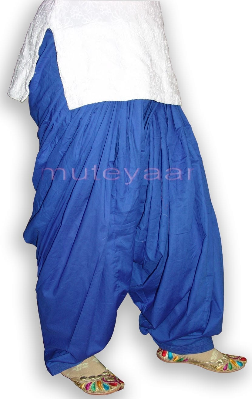100% PURE COTTON PATIALA SALWAR shalwar from Patiyala City !! 5