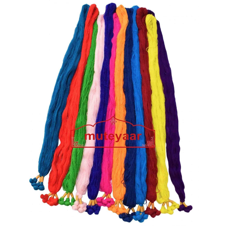 Colorful Parandi Braids Lot of 12 pieces different Colors 1