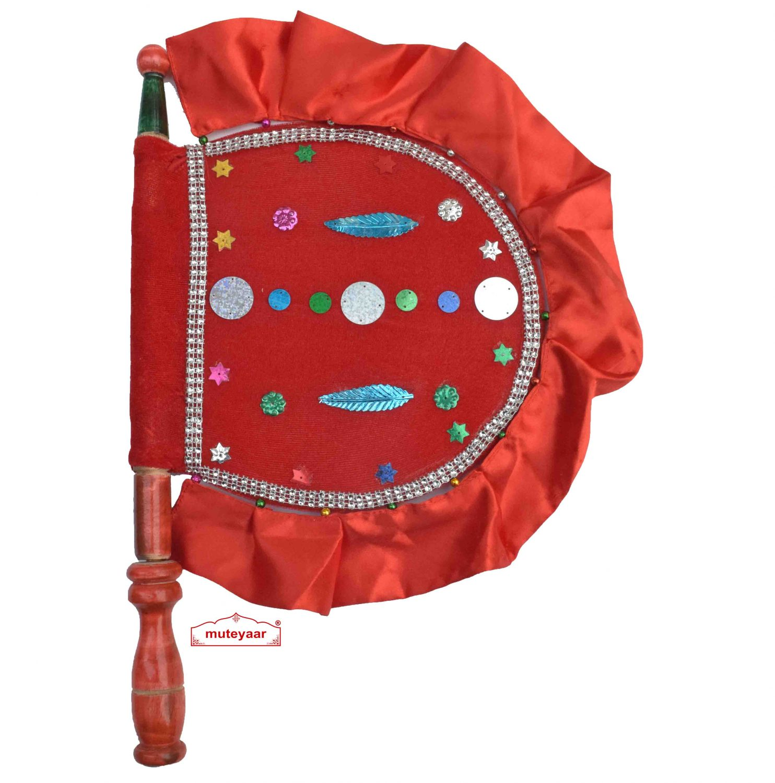 Red Colour Designer Pakhi T0277 1