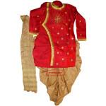 Dhoti Achkan / Kurta Stole Mirrors Work Bollywood Dance Dress Outfit Costume Attire