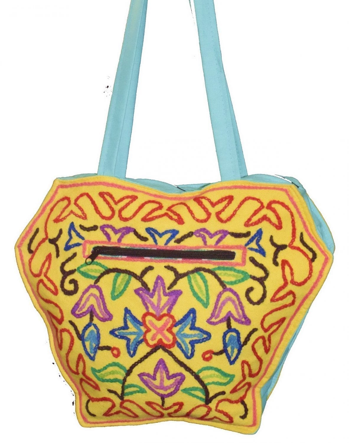 Kashmiri Hand made embroidered Office / College / Shopping Bag HB111 1
