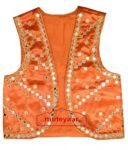 Diagonal Mirrors Work Bhangra Dance Dress Outfit Costume Attire