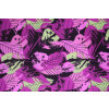 Purple Leaves Design COTTON PRINTED FABRIC (per meter price) PC323