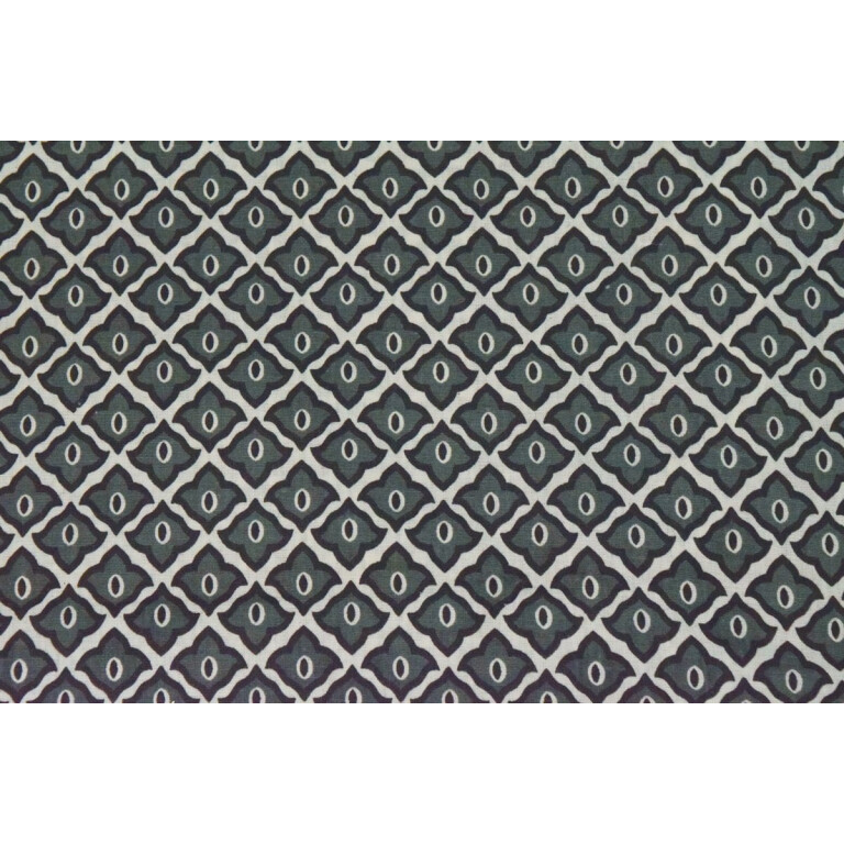 Grey Barfi COTTON PRINTED FABRIC (per meter price) PC331