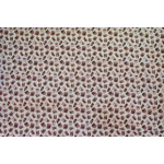 Cream Brush Printed COTTON FABRIC for Multipurpose use PC339