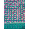 Green magenta Printed COTTON FABRIC for Multipurpose use (per meter price) PC340