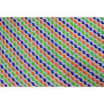 Multicolor ZigZag Printed COTTON FABRIC for Multipurpose use PC342