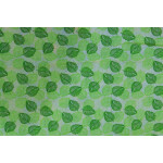Green leaves COTTON PRINTED FABRIC for Multipurpose use PC347