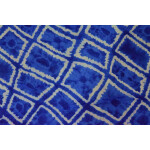 Blue COTTON PRINTED FABRIC for Multipurpose use PC352