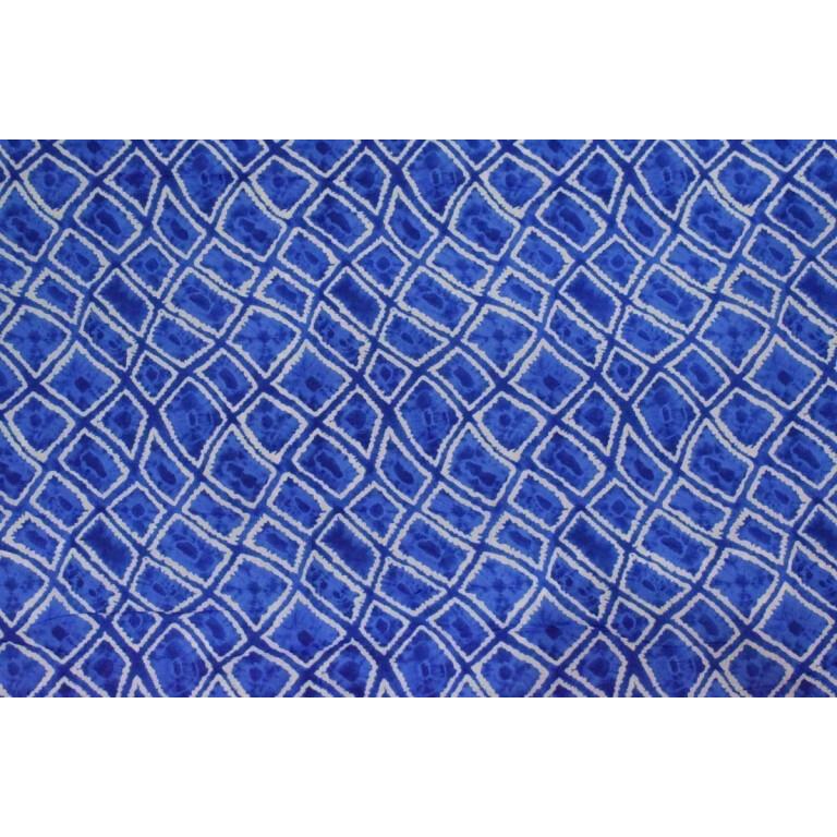 Blue COTTON PRINTED FABRIC for Multipurpose use (per meter price) PC352