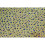 Fawn Small Floral design COTTON PRINTED FABRIC for Multipurpose use PC354