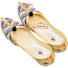 Cream Black Belly  Punjabi Jutt Mojari Shoes PJ9814