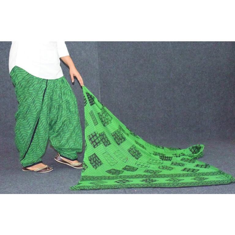 Printed Patiala Salwar Pure Cotton with Print cotton Dupatta PSD244