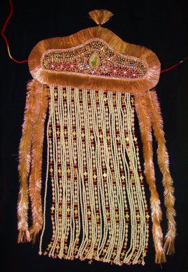 Sehra for Dulha Bridegroom for a traditional Punjabi Wedding Ceremony SH001 1