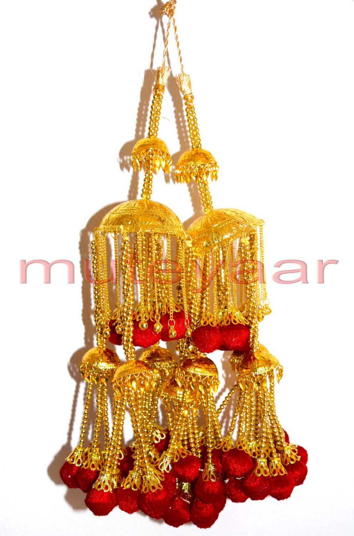 Traditional Punjabi Heavy Kaleera for the Panjabi Bride J0114 1