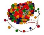 Multicolor Laddoo Lace Pom Pom Balls kinari LC055
