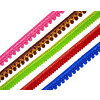 12 mm / Half Inch Width Thin Lace 10 meters Long Piece LC107 - All colours available