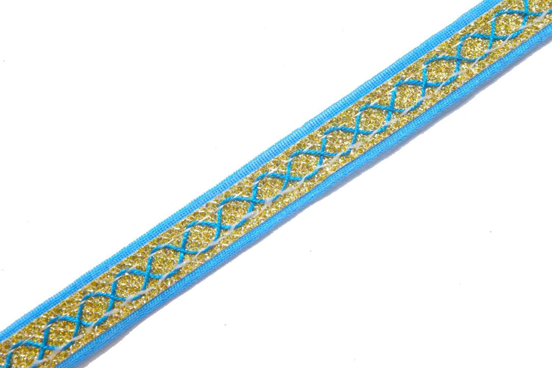 Lace for dupatta 16 mm width Designer Kinari 9 meters Length Roll LC148 1