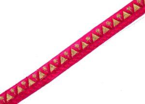 Lace for dupatta 16 mm width Designer Kinari 9 meters Length Roll LC154